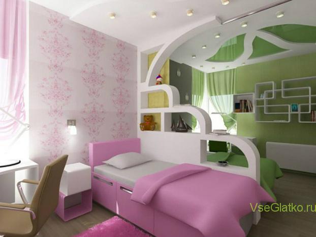 Дизайн комнаты для мальчика и девочки в одной комнате